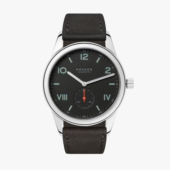 Nomos Glashuette Club Campus 38 Night (Ref#736) - Boston