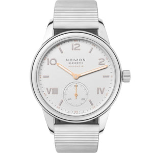 Nomos Glashutte Club Campus Neomatik 37mm Stainless Steel (Ref. 748) - WATCHES Boston