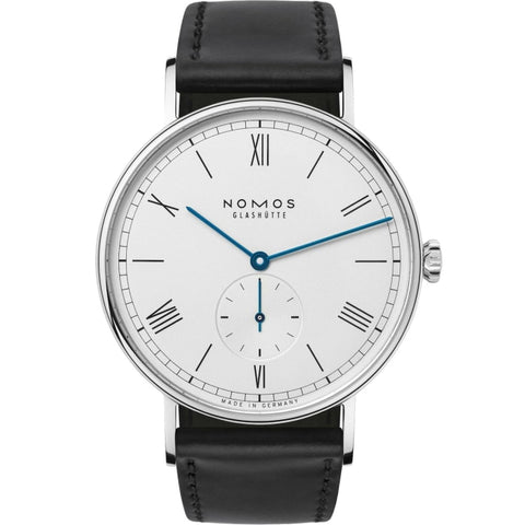 Nomos Glashutte Ludwig 38mm Stainless Steel/Strap (Ref. 234) - WATCHES Boston