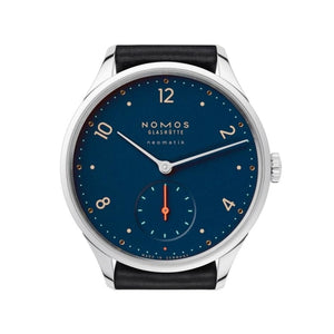 Nomos Minimatik Nachtblau 35.5Mm Stainless Steel (1205) - Watches Boston
