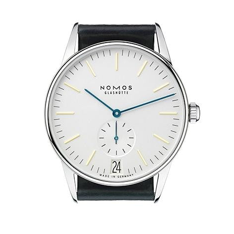 Nomos Orion 38 Datum 38Mm Stainless Steel (380) - Watches Boston