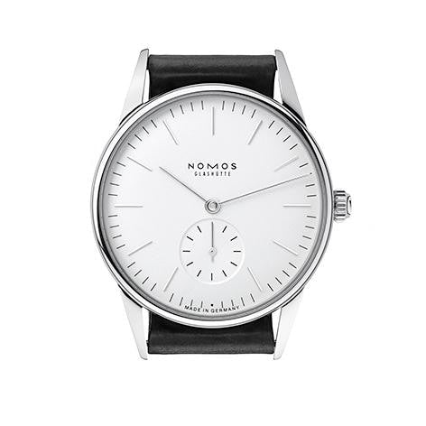 Nomos Orion Weiss 35Mm Stainless Steel (306) - Watches Boston