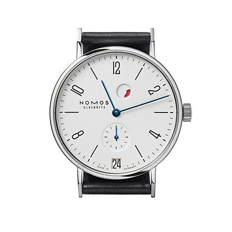 Nomos Tangente Datum Grangreserve 35Mm Stainless Steel (131) - Watches Boston