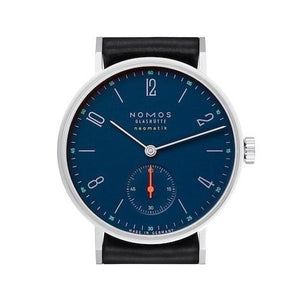 Nomos Tangente Neomatik Nachtblau 35Mm Stainless Steel (177) - Watches Boston