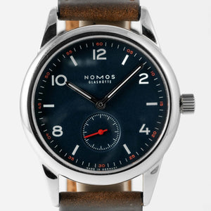 Nomos Timeless Club II Limited Edition Stainless Steel 38mm - Rare Limited Edition - Boston