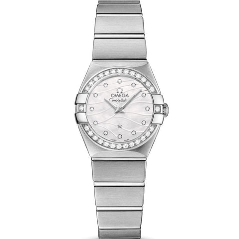 Omega Constellation Quartz 24Mm (123.15.24.60.55.006) - Watches Boston