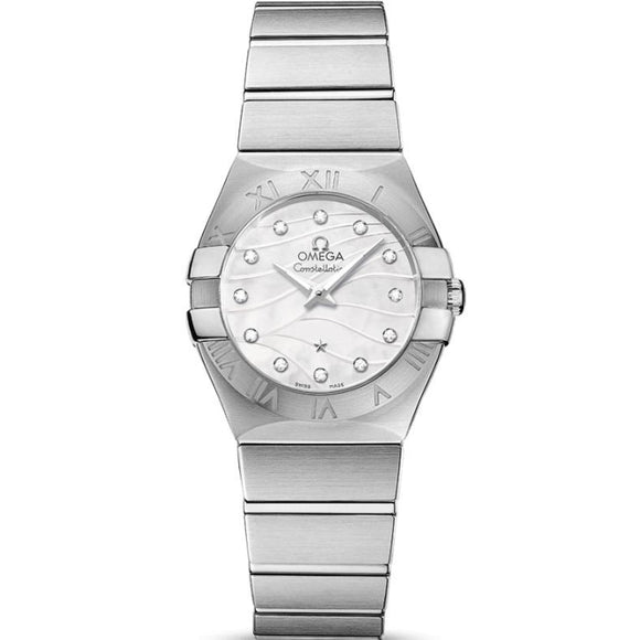 Omega Constellation Quartz 27Mm (123.10.27.60.55.003) - Watches Boston