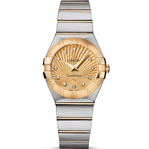 Omega Constellation Quartz 27Mm (123.20.27.60.58.001) - Watches Boston