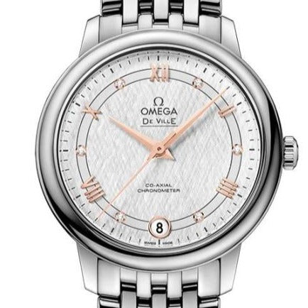 Omega De Ville Prestige Co-Axial 32.7Mm (424.10.33.20.52.001) - Watches Boston