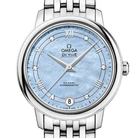 Omega De Ville Prestige Co-Axial 32.7Mm (424.10.33.20.57.001) - Watches Boston