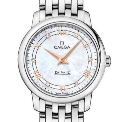 Omega De Ville Prestige Quartz 27.4Mm (424.10.27.60.55.001) - Watches Boston