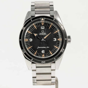 Omega Seamaster Black Dial - Boston