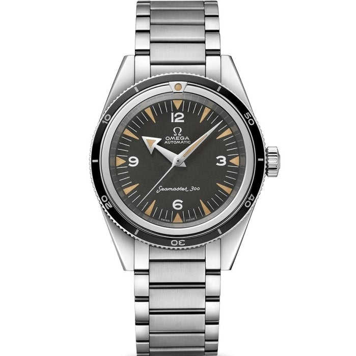 Omega Seamaster 300 Trilogy 60Th Anniversary (234.10.39.20.01.001) Limited Edition - Watches Boston