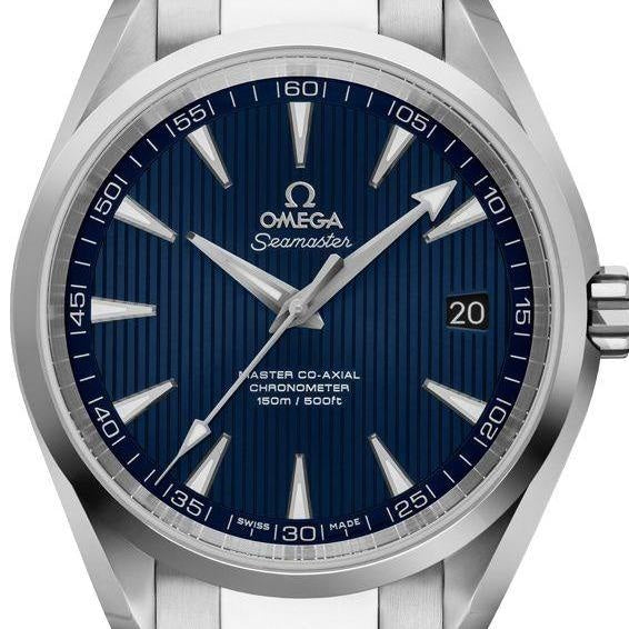 Omega Seamaster Aqua Terra 150m Co-Axial Master Chronometer 38mm Stainless Steel (220.10.38.20.03.001) - WATCHES Boston
