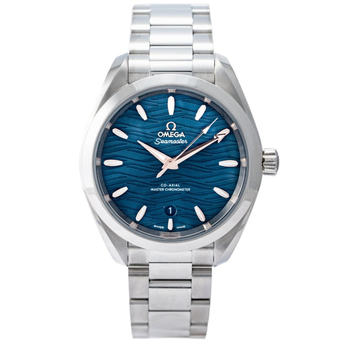 Omega Seamaster Aquaterra Co-Axial Master Chronometer Stainless Steel 34mm (220.10.34.20.03.001) - Boston