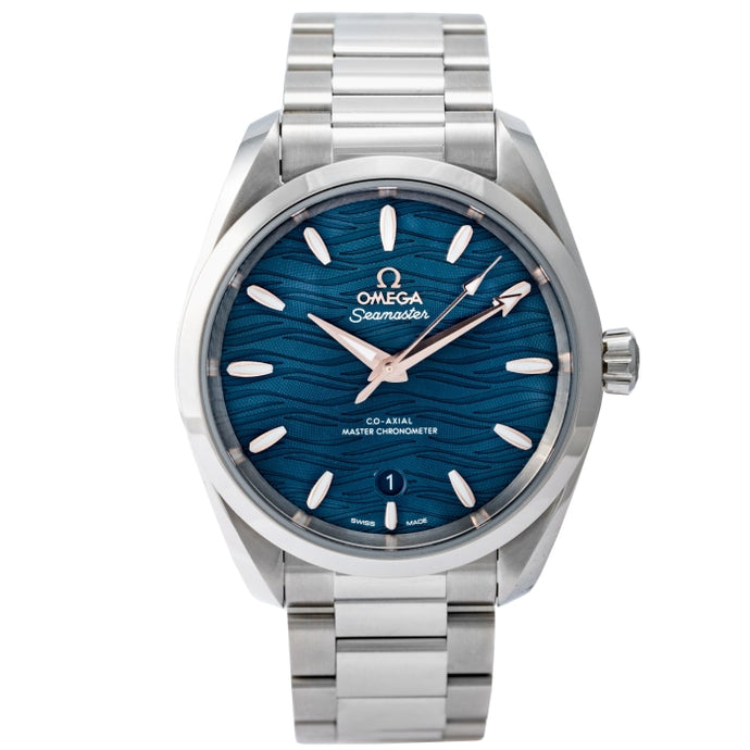 Omega Seamaster Aquaterra Co-Axial Master Chronometer Stainless Steel 38mm (220.10.38.20.03.002) - Boston
