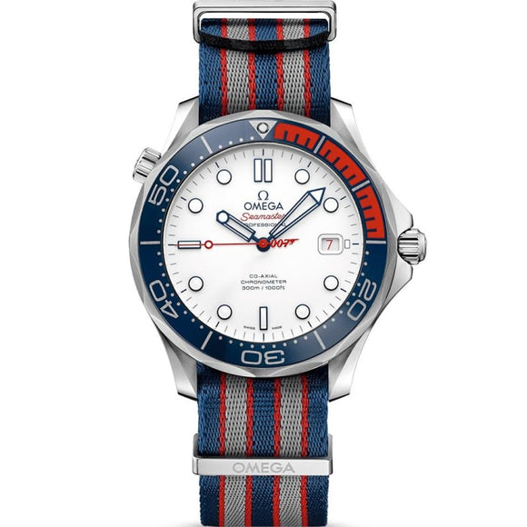 Omega Seamaster Diver 300M 007 James Bond Commander 41Mm (212.32.41.20.04.001) Limited Edition - Watches Boston