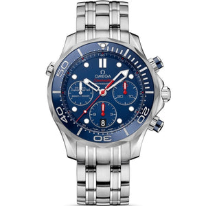 Omega Seamaster Diver 300M Co-Axial Chronograph 41.5Mm (212.30.42.50.03.001) - Watches Boston