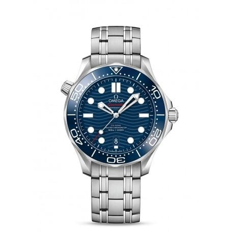 Omega Seamaster Diver 300M Co-Axial Chronometer Black Dial 42Mm (210.30.42.20.03.001) - Jewelry Boston