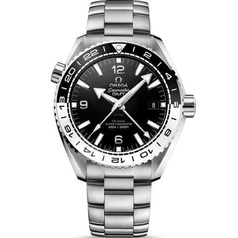 Omega Seamaster Planet Ocean 44mm Steel Blk GMT (Ref 215.30.44.22.01.001) - WATCHES Boston