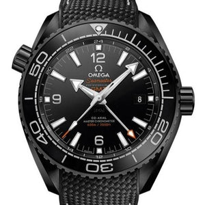 Omega Seamaster Planet Ocean 600M Co-Axial Gmt Deep Black 45.5Mm (215.92.46.22.01.001) - Watches Boston