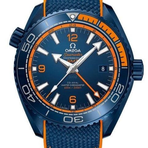 Omega Seamaster Planet Ocean 600M Co-Axial Master Chronometer 45.5Mm Big Blue (215.92.46.22.03.001) - Watches Boston