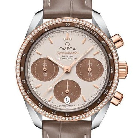 Omega Speedmaster 38 Co-Axial Chronograph 38Mm (324.28.38.50.02.002) - Watches Boston