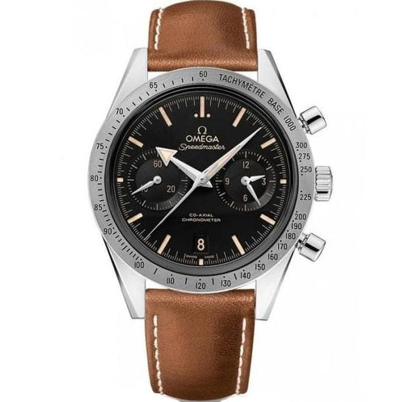 Omega Speedmaster 57 Chronograph Stainless Steel 41.5Mm (331.12.42.51.01.002) - Watches Boston