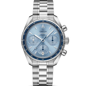 Omega Speedmaster Co-Axial Chronograph 38mm Stainless Steel (Ref 324.30.38.50.03.001) - WATCHES Boston
