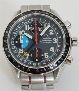 Omega Speedmaster Mark 40 Triple Calendar Automatic Stainless Steel 39Mm (3820.53) - Watches Boston