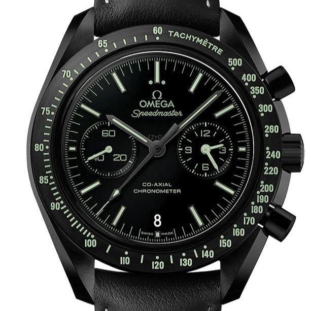 Omega Speedmaster Moonwatch C0-Axial Chronograph 44.25mm (311.92.44.51.01.004) Dark Side of the Moon - WATCHES Boston