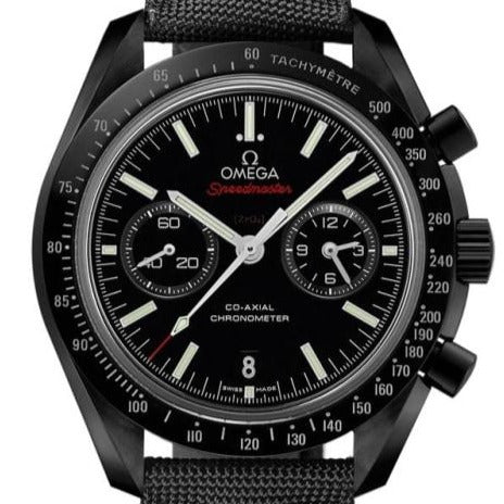 Omega Speedmaster Moonwatch C0-Axial Chronograph 44.25Mm (311.92.44.51.01.007) Dark Side Of The Moon - Watches Boston