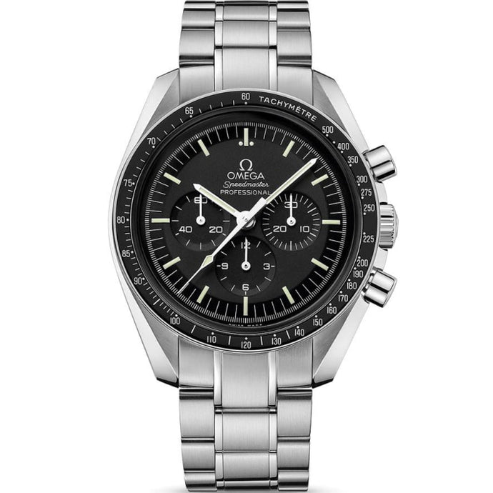 Omega Speedmaster Moonwatch Professional Chronograph 42mm (311.30.42.30.01.005) Hesalite Original - WATCHES Boston