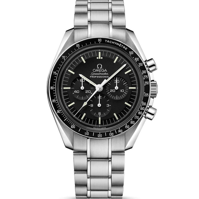Omega Speedmaster Moonwatch Professional Chronograph 42mm Stainless Steel (Ref 311.30.42.30.01.006) - WATCHES Boston