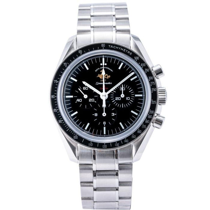 Omega Speedmaster Professional Moonwatch 50th Anniversary Stainless Steel 42mm (311.30.42.30.01.001) - Boston
