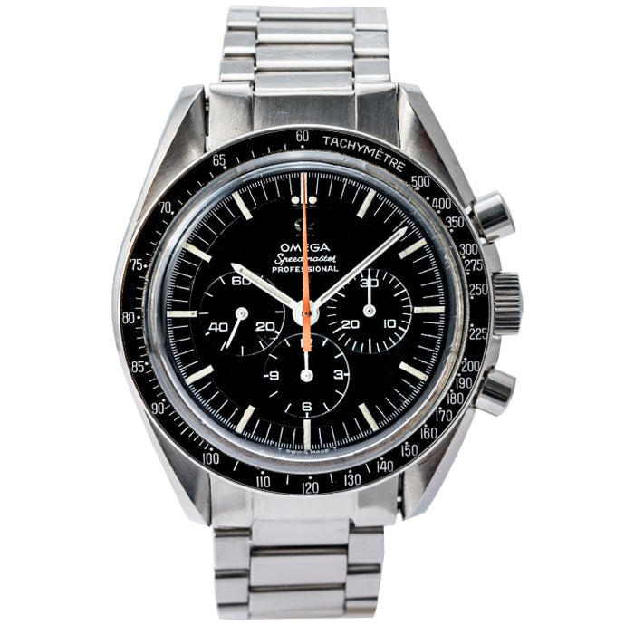Omega Speedmaster Ultraman 1968 Chronograph Stainless Steel 42mm (ST 145.012) - Boston