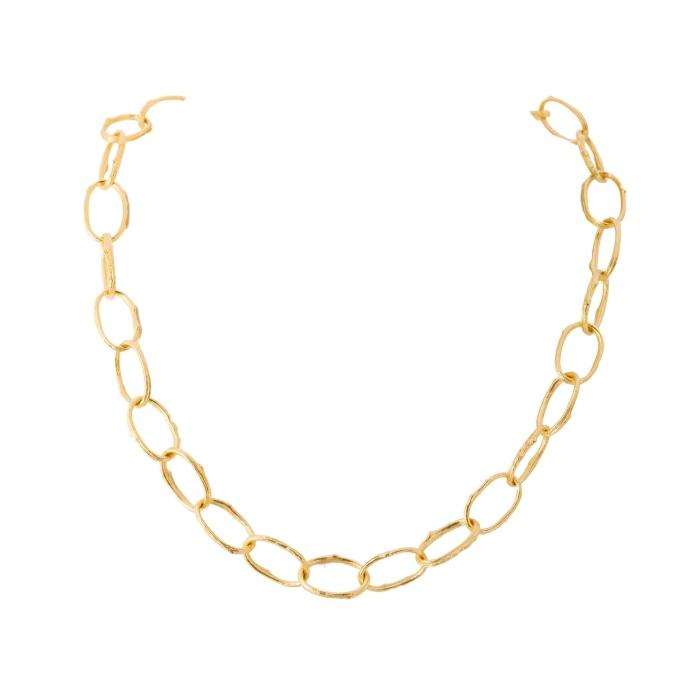 Open Link Gold Necklace - Boston