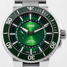 Load image into Gallery viewer, Oris Aquis Dive Watch Hangang Special Edition Stainless Steel 43.50mm (01 743 7734 4187-Set) - Boston