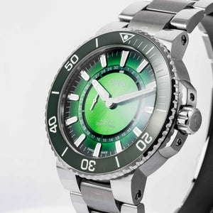 Oris Aquis Dive Watch Hangang Special Edition Stainless Steel 43.50mm (01 743 7734 4187-Set) - Boston