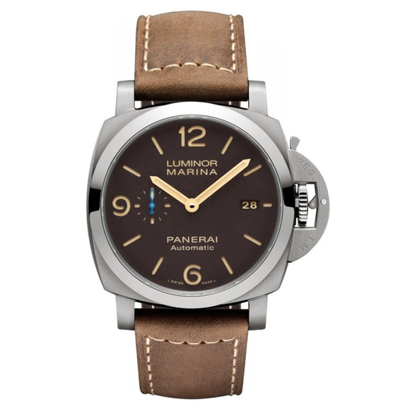 Panerai Luminor 1950 3 Days Automatic Acciaio 44Mm Titanium (Pam01351) - Watches Boston