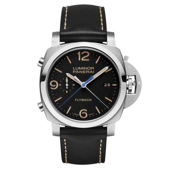 Panerai Luminor 1950 3 Days Chrono Flyback Automatic Acciaio 44Mm Stainless Steel (Pam00524) - Watches Boston