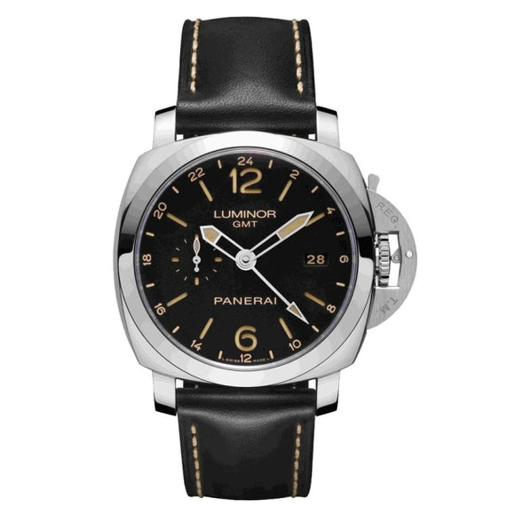 Panerai Luminor 1950 3 Days Gmt 24H Automatic Acciaio 44Mm Stainless Steel (Pam00531) - Watches Boston