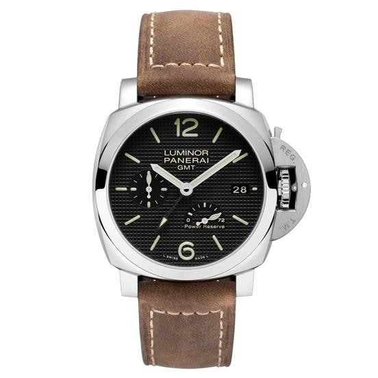 Panerai Luminor 1950 3 Days Gmt Power Reserve Automatic 42Mm Stainless Steel (Pam00537) - Watches Boston