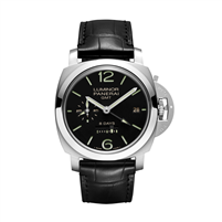 Panerai Luminor 1950 8 Days Gmt Acciaio 44Mm Stainless Steel (Pam00233) - Watches Boston