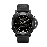 Panerai Luminor 1950 Chrono Monopulsante 8 Days Gmt Ceramica 44Mm (Pam00317) - Watches Boston