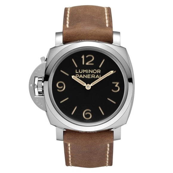 Panerai Luminor 1950 Left-Handed 3 Days Acciaio 47Mm Stainless Steel (Pam00557) - Watches Boston