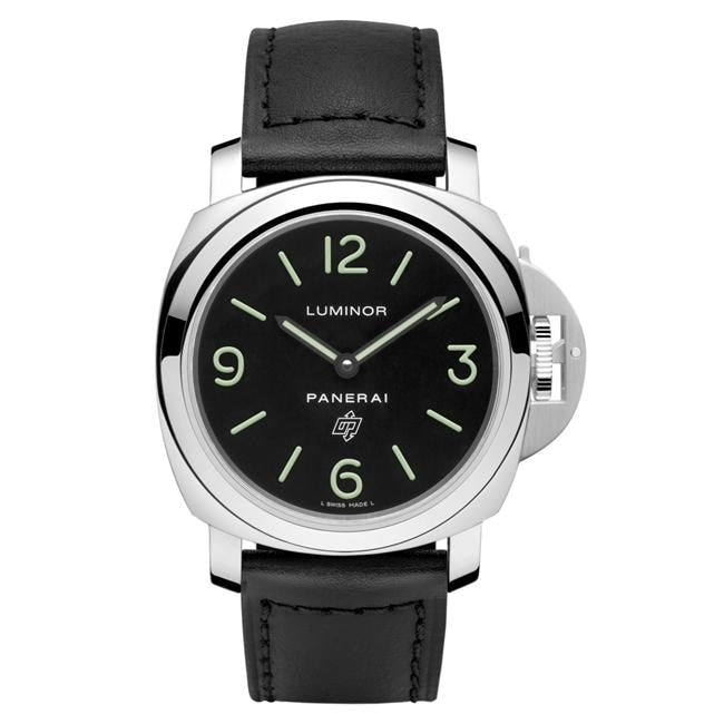 Panerai Luminor Base Logo Acciaio 44Mm Stainless Steel (Pam01000) - Watches Boston