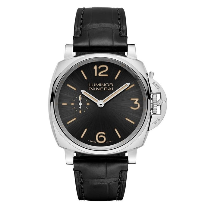 Panerai Luminor Due 3 Days Acciaio 42Mm Stainless Steel (Pam00676) - Watches Boston