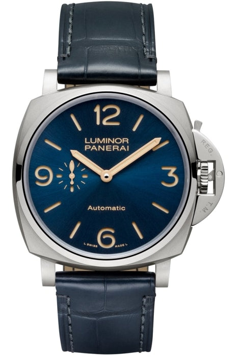 Panerai Luminor Due 3 Days Automatic Titanio 45Mm Titanium (Pam00729) - Watches Boston