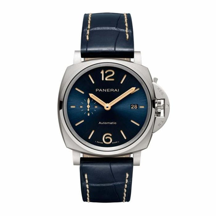 Panerai Luminor Due 42mm Titanium Blue Dial (PAM00927) - Boston